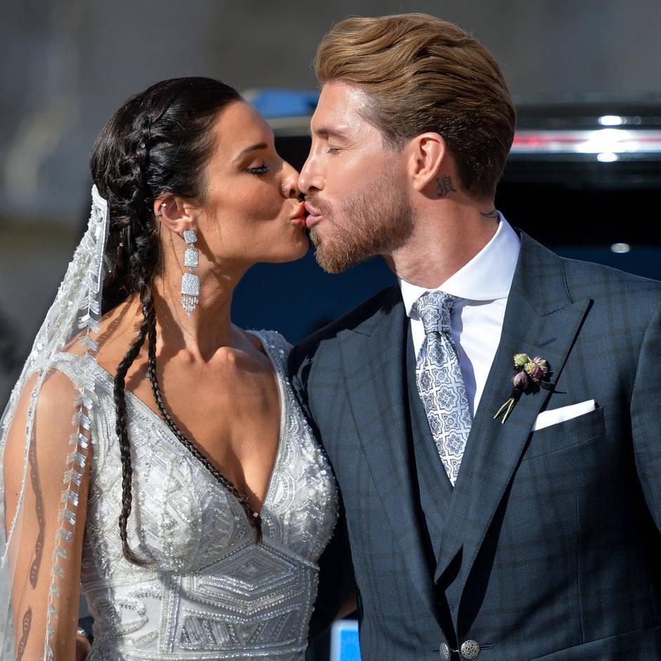"""Hochzeit von Real-Star: Sergio Ramos sagt """"Ja"""" - doch Jubel gab es auch noch für ein anderes Paar"""