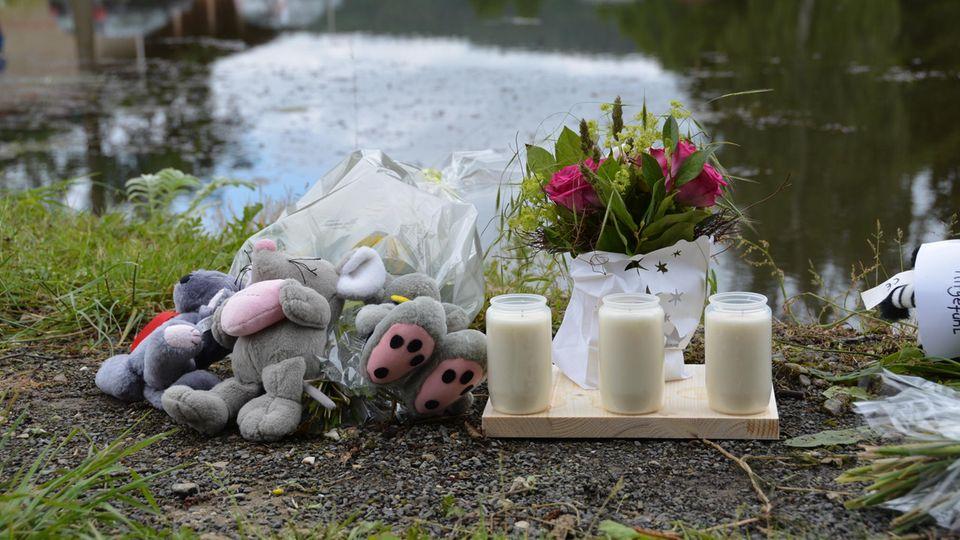 Der Unglücksort, ein Teich in Neukirchen