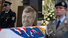 Trauerfeier für den erschossenen Kasseler Regierungspräsidenten Walter Lübcke