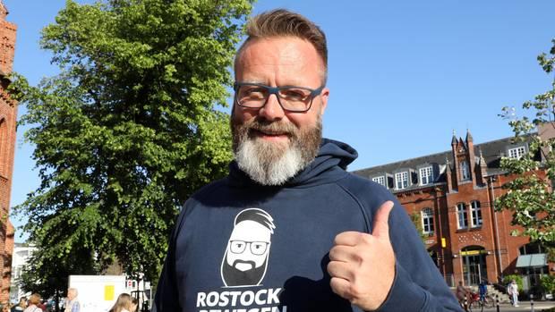 Der neue Rostocker Bürgermeister Claus Ruhe Madsen