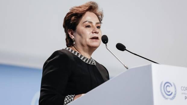 Patricia Espinosa, Klimachefin der Vereinten Nationen, bei der UN-Klimakonferenz im vergangenen Dezember in Kattowitz, Polen.