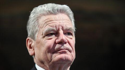 Alt-Bundespräsident Joachim Gauck