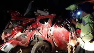 In Indonesien sind zwölf Menschen bei einem Busunglück ums Leben gekommen