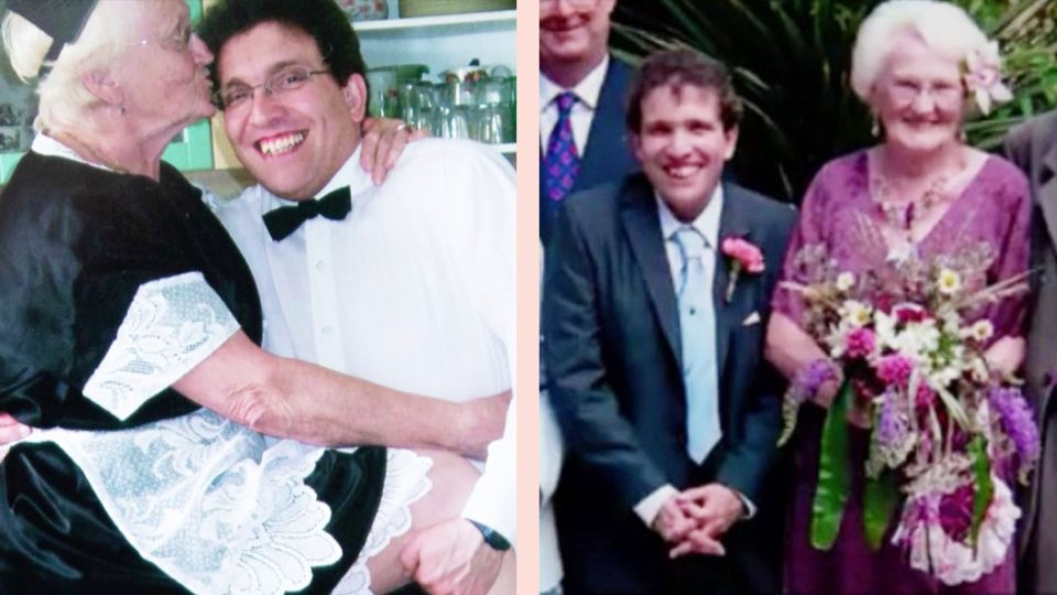 40 Jahre Altersunterschied: Simon und Edna können nicht ohne einander