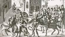 Im mittelalterlichen London konnte man auf vielfältigste Art zu Tode kommen