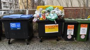 In Berlin wurde eine Mülltonne für den Transport eines Tresors verwendet (Symbolbild)