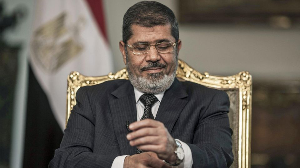 Der frühere ägyptische Präsident Mohammed Mursi