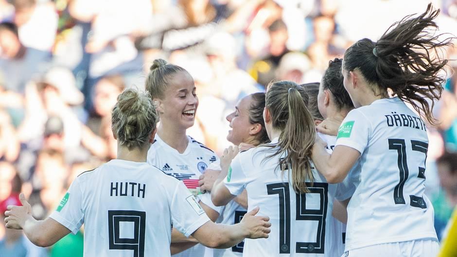Fussball Weltmeisterschaft Der Frauen 2019 Deutschland