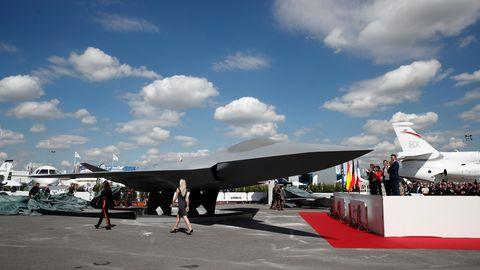 Leider istdie Form des FCAS-Modells beliebig, sie sagt nichts über den geplanten Fighter aus.