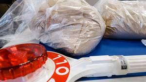 Brandenburger Zollfahnder haben eine Rekordmenge Heroin entdeckt (Archivbild)