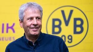 Borussia Dortmunds Trainer Lucien Favre