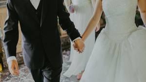 Bei dieser Hochzeit war die Braut nicht die einzige, die weiß trug