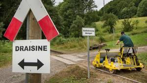 nachrichten deutschland - unfall draisine