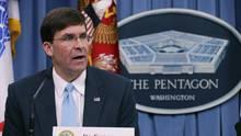 Der designierte US-Verteidigungsminister Mark Esper