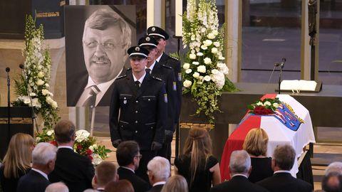 Beerdigung von Walter Lübcke