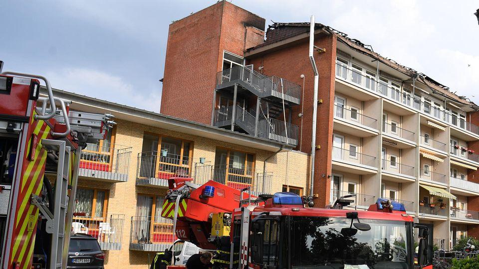 In Bremen brannte am Abend ein Altenheim.