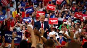 Trumps Wahlkampfauftakt in Florida