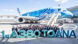 Airbus A380 von All Nippon Airways