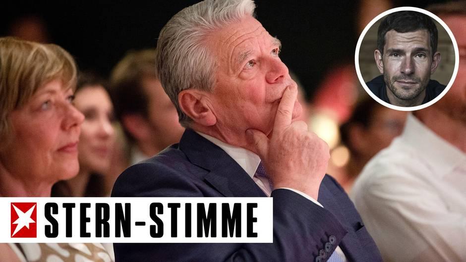 Ex-Bundespräsident Joachim Gauck