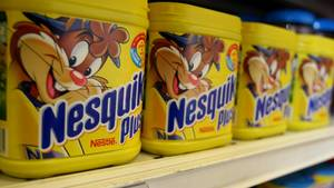 Nesquik in einem Supermarkt