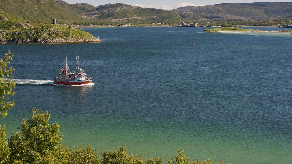Auf der norwegischen Insel Sommarøygeht die Sonne im Sommer knapp 70 Tage lang nicht unter