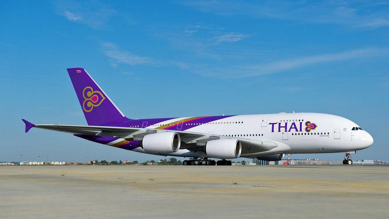 Airbus A380 von Thai Airways