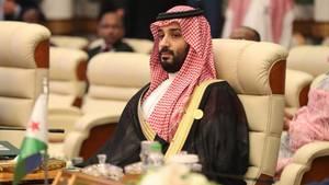 Kronprinz Mohammed bin Salman bei einem Gipfeltreffen in Mekka
