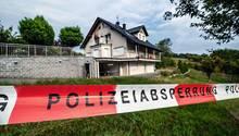 Das Haus der Familie in Mörlenbach, in dem das Verbrechen geschah