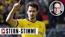 Künftig wird Mats Hummels wieder im schwarz-gelben Trikot des BVB auflaufen
