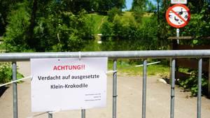 nachrichten aus deutschland polizeiabsperrung an badesee