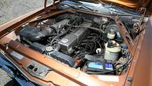 Der 2.8 Liter Reihensechszylinder hatte eine moderne D-Jetronic Benzineinspritzung,