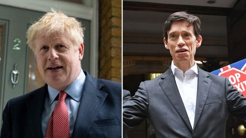 Boris Johnson (l.) und Rory Stewart