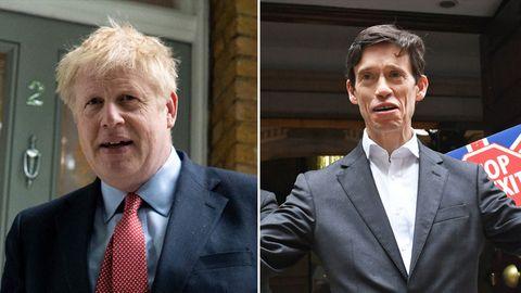 Boris Johnson (l.) und Rory Stewart