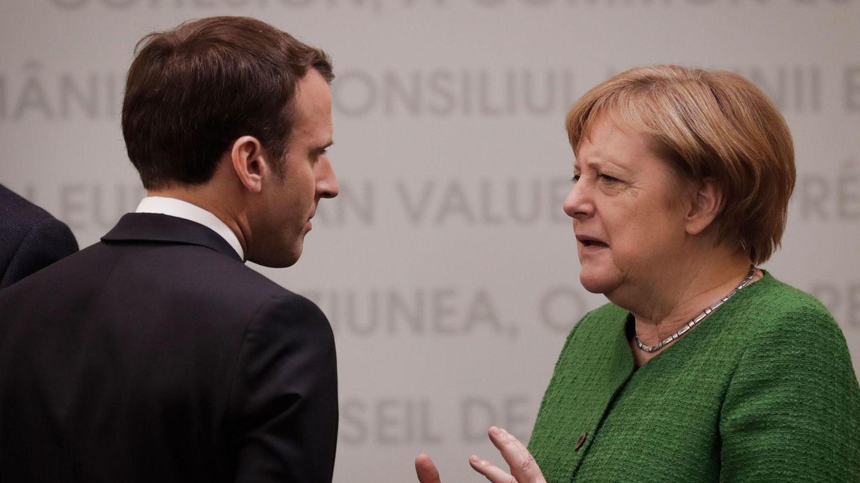 Angela Merkel - Emmanuel Macron - EU-Gipfel