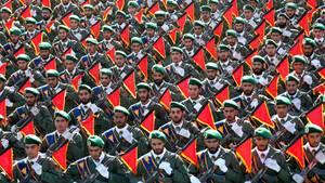 Mitglieder der iranischen Revolutionsgarde