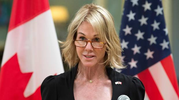 Kelly Craft, die UN-Nominierte von US-Präsident Donald Trump
