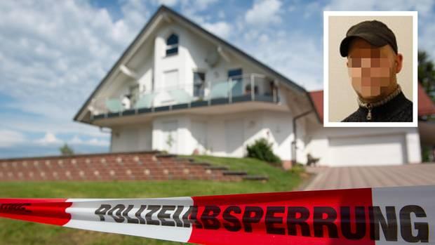DasHaus des verstorbenen Kasseler Regierungspräsidenten Walter Lübcke(CDU)