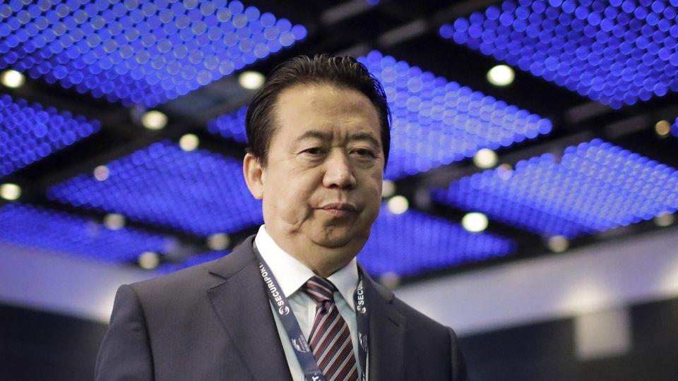 Ex-Interpol-Chef Meng Hongwei