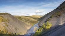 Vittrekwa Valley in den kanadischen Northwest Territories