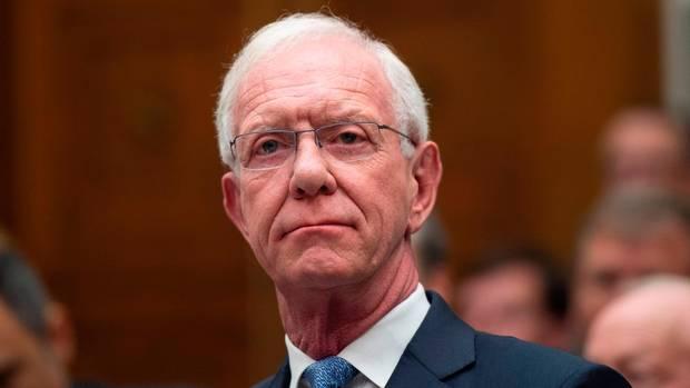 """Chesley """"Sully"""" Sullenberger bei der Kongress-Anhörung zur Untersuchung der Unglücke mit denMaschinen des US-Herstellers Boeing"""