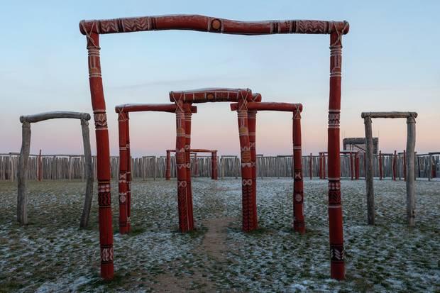 """""""Deutsches Stonehenge"""": Die hölzerne Kreisgrabenanlageder Aujentitz-Kultur in Pömmelte (Sachsen-Anhalt)"""
