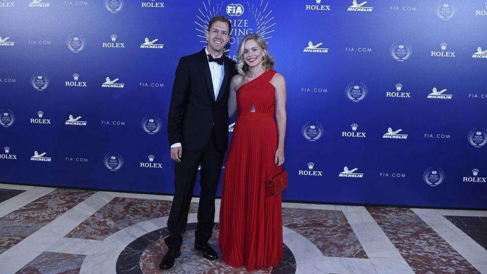 Sebastian Vettel und Frau Hanna