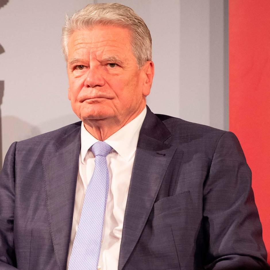 Bei Lanz im ZDF: So erklärt Ex-Bundespräsident Gauck seine Forderung nach mehr Toleranz für rechts