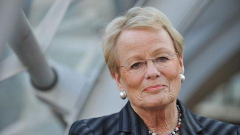 Frühere ZDF-Nachrichtenmoderatorin Wibke Bruhns