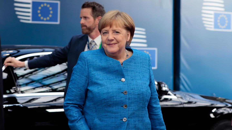 Angela Merkel beim Gipfel der Staats- und Regierungschefs in Brüssel.