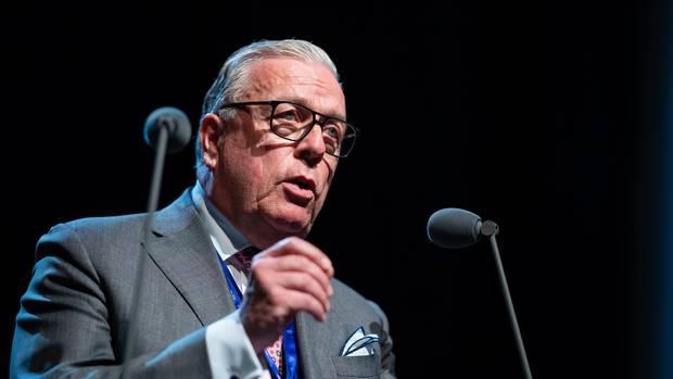 Der neue Ärztepräsident Klaus Reinhardt nach der Wahl im Mai in Münster