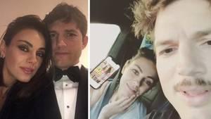 Ashton Kutcher und Mila Kunis nehmen die Klatsch-Presse aufs Korn