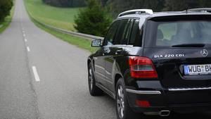 Rückruf angeordnet: Ein Mercedes GLK 220 CDI