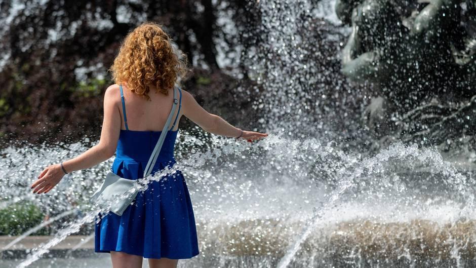 Extremes Wetter: Deutschland steuert auf einen neuen Hitzerekord im Juni zu