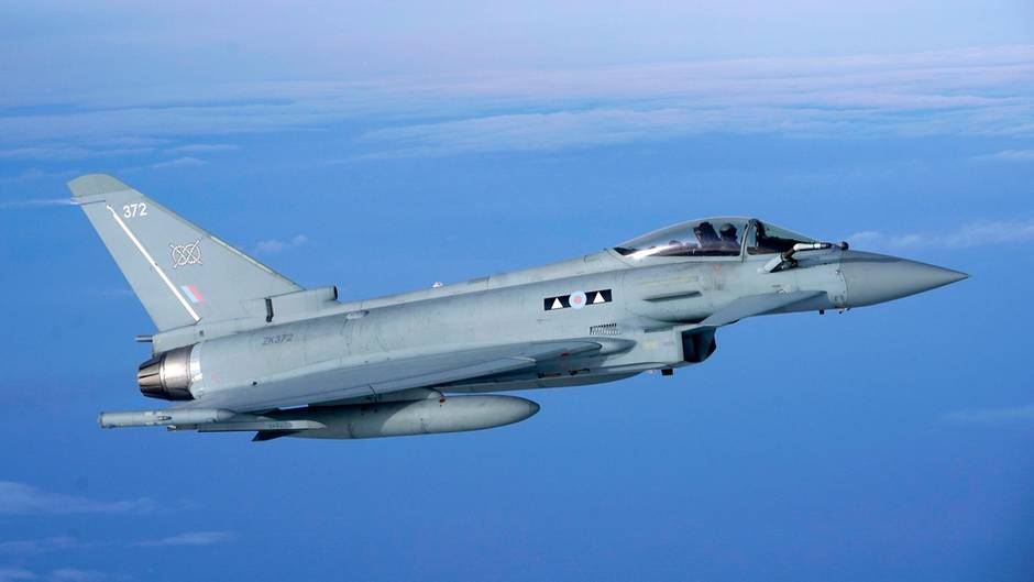 Eurofighter der Royal Air Force